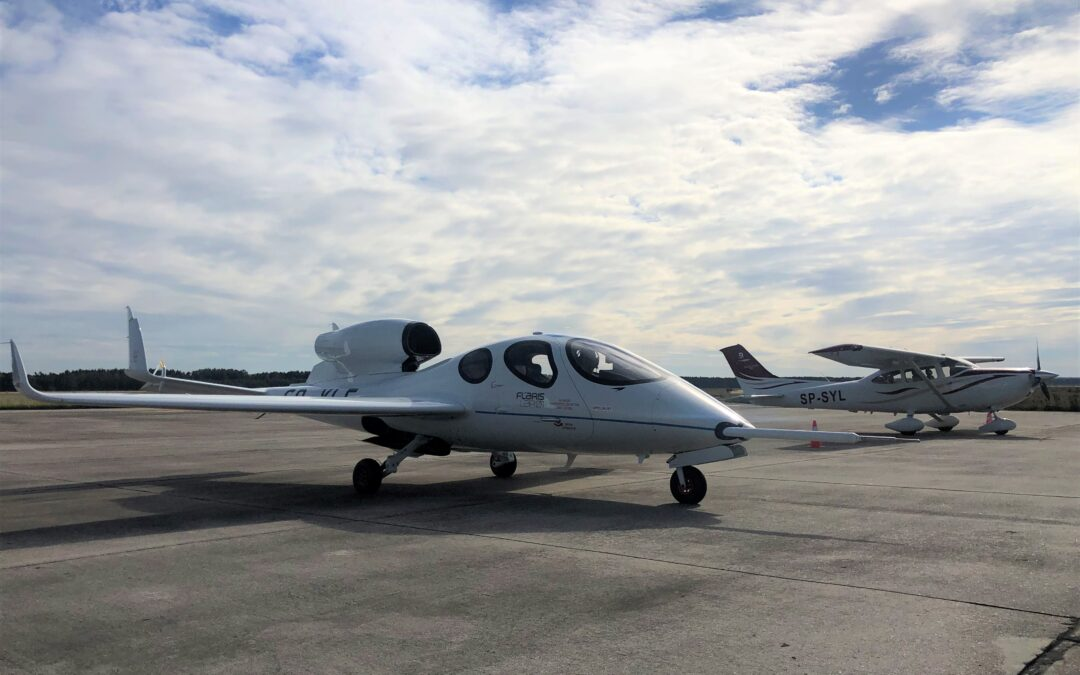 We have CAA approval for Flaris flights